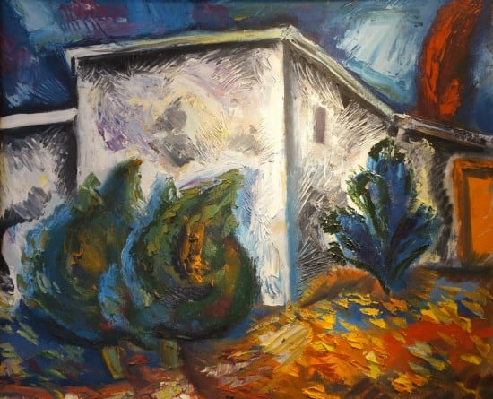«Дворик у дома А.П. Чехова в Гурзуфе»