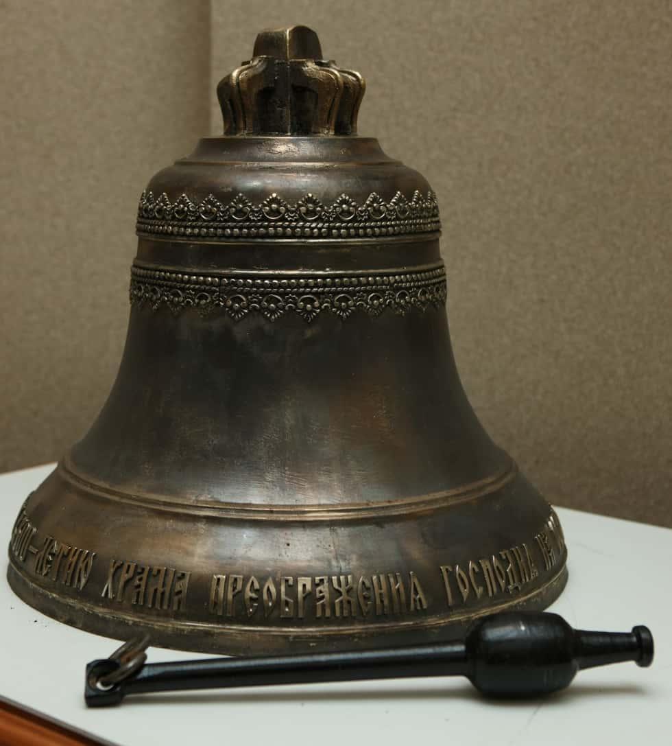 Новый колокол к 300-летию Преображенской церкви