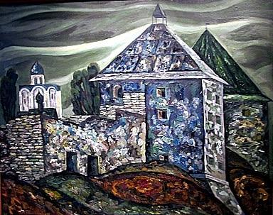 Стены Старой Ладоги. Из триптиха «Рубежи нашей Родины»