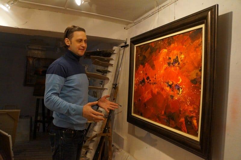 Егор Кукушкин: «Для художника важно полететь!»