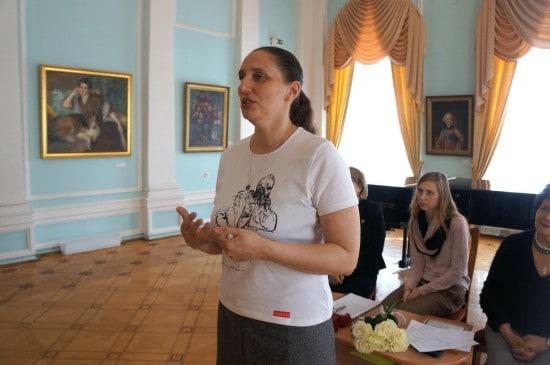 Мария Юфа, искусствовед, директор Городского выставочного зала. Слово об отце