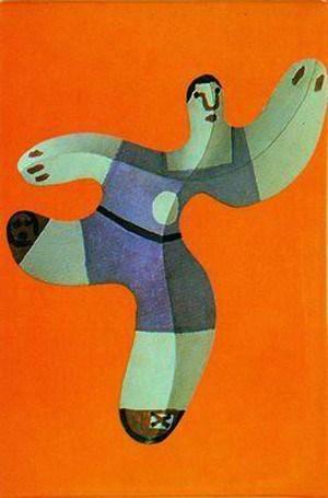 Пабло Пикассо. Игрок в футбол