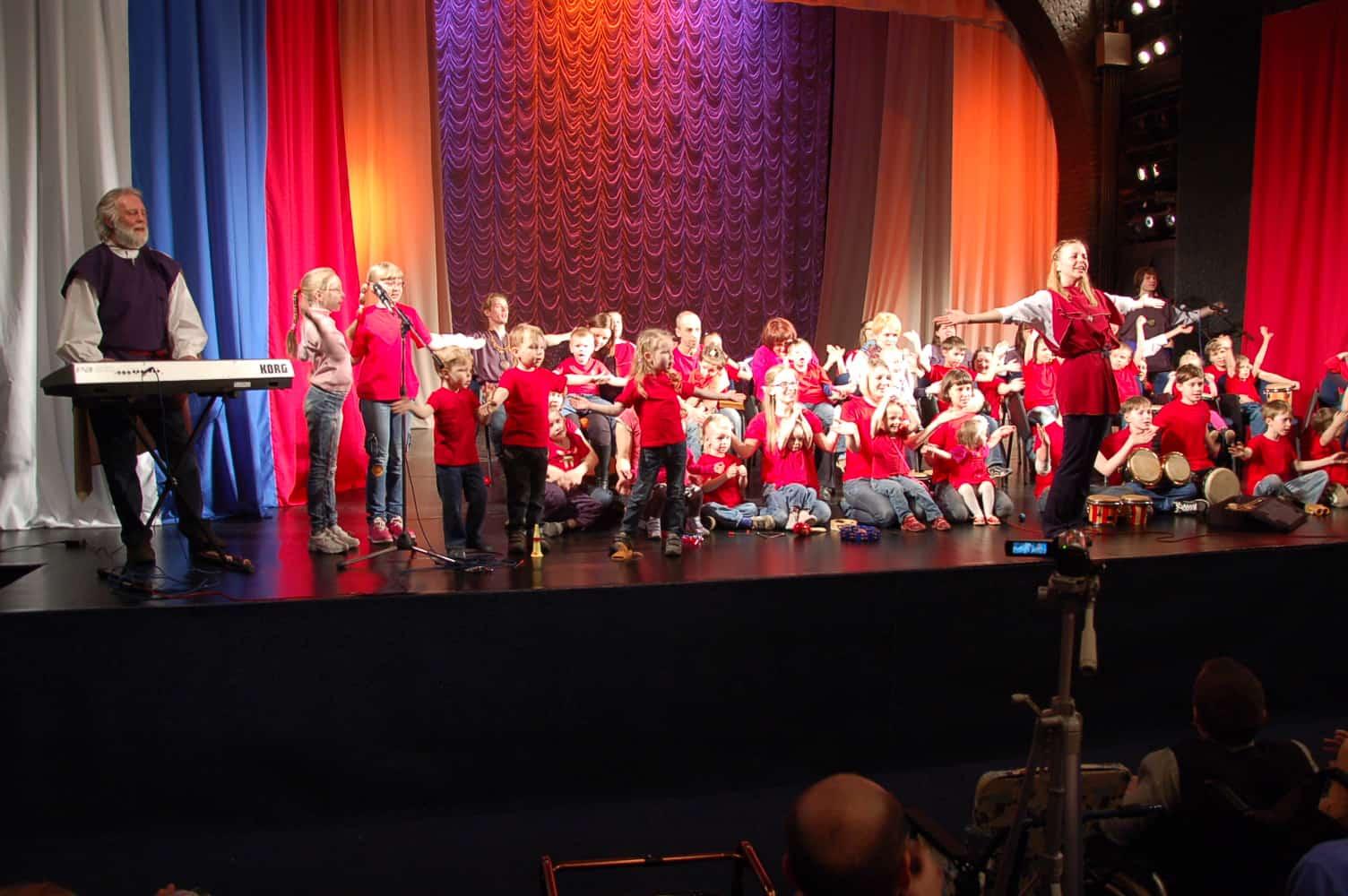 В Петрозаводске провели  фестиваль для особых детей «Ритмы плюс»