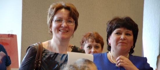 Ольга Анатольевна Насибулина и Ирина Афанасьевна Неровня (справа)