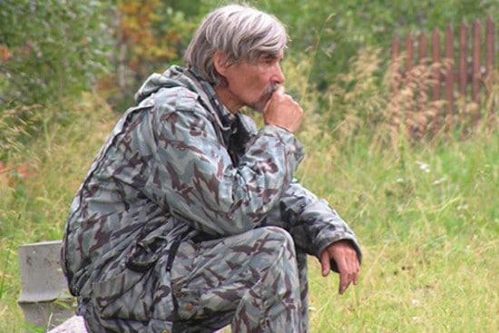 Юрий Дмитриев, нашедший останки соловчан в урочище Сандармох. www.karta.psmb.ru