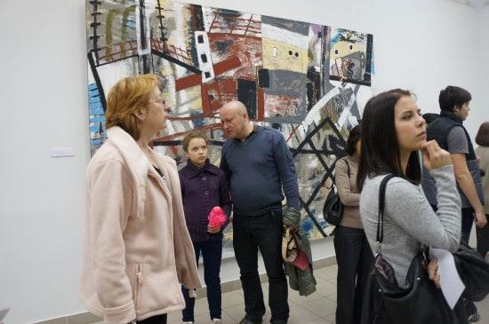 На выставке Олега Ланга