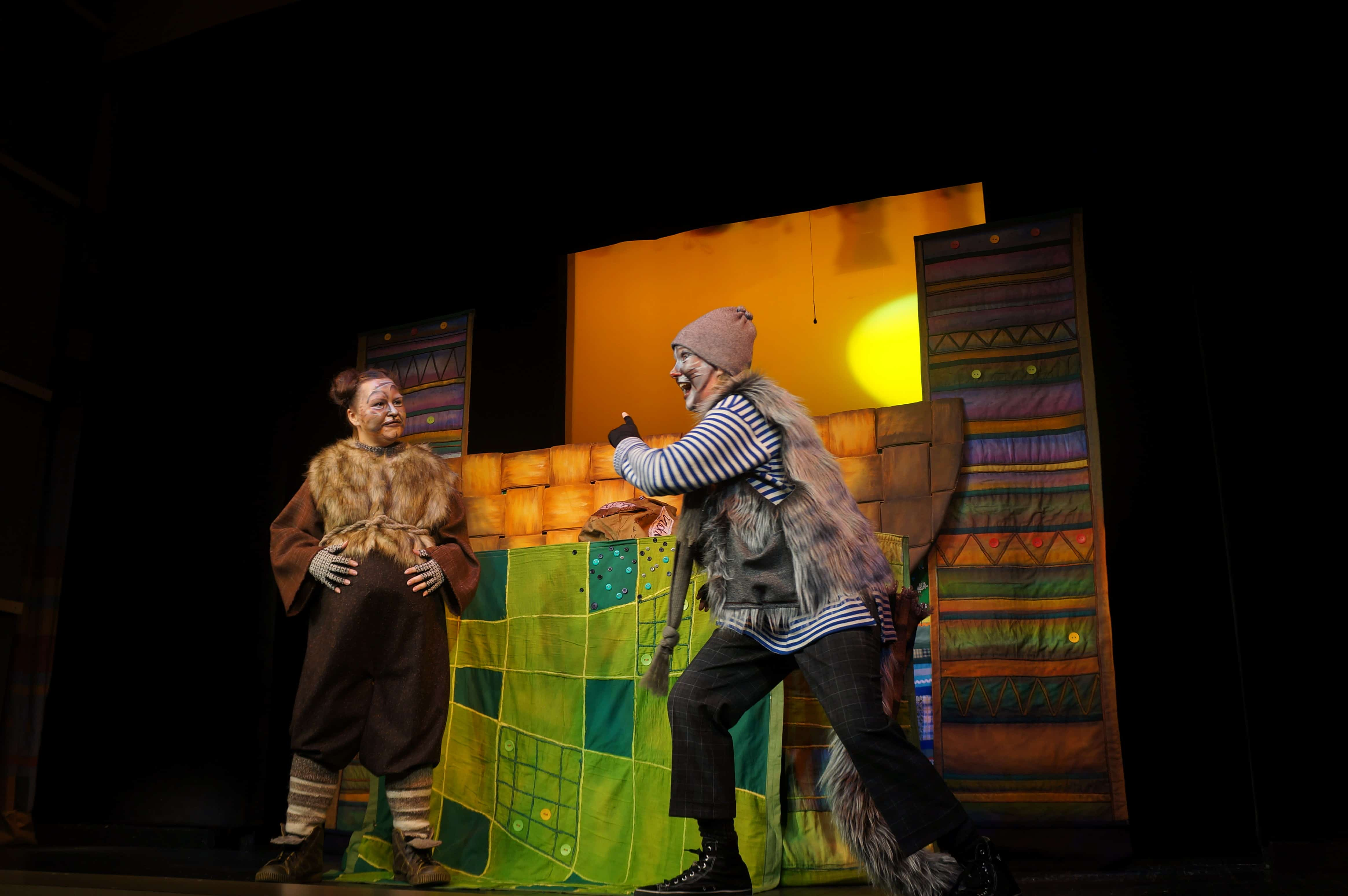 Карельский народный театр кукол «Чичилиушку» показал премьеру