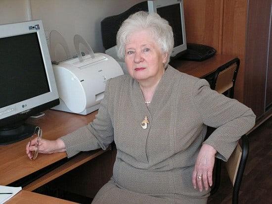 Лариса Николаевна Колесова. Фото с сайта ПетрГУ