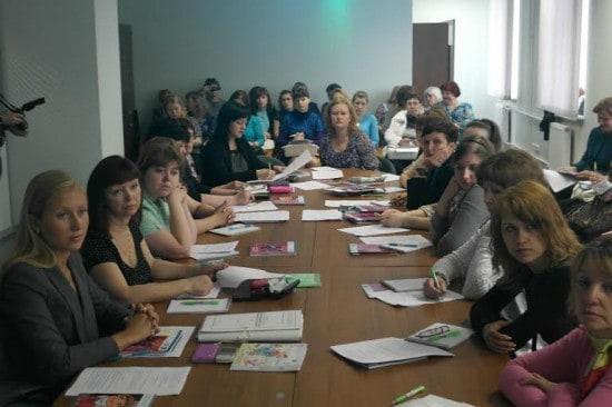 Участники семинара из Карелии, Санкт-Петербурга, Ленинградской области, Мурманска