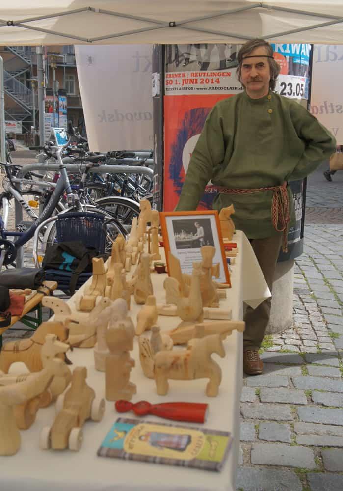 На Карельской площади в центре… Тюбингена