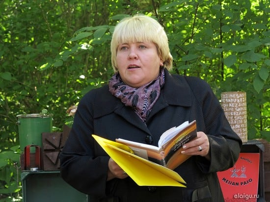 Министр культуры Карелии Елена Богданова
