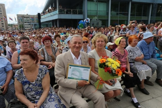 Константин Гнетнев - лауреат премии Республики Карелия в области литературы