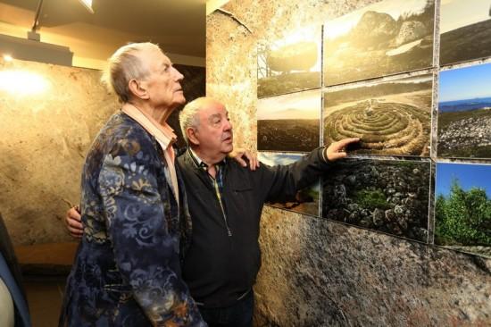 Евгений Евтушенко и Михаил Гольденберг. Фото Владимира Ларионова
