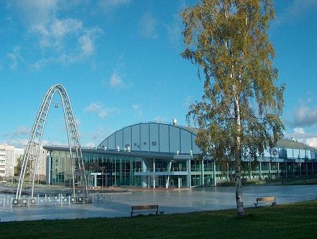 Площадь возле Дворца спорта будет главным местом праздника. Фото dskondopoga.narod.ru