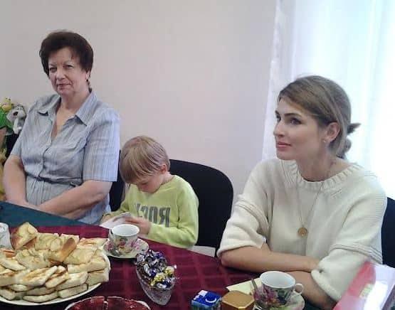 Анна Семак  в петрозаводском детдоме №2