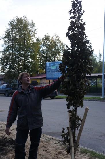 Эколог Сергей Попков