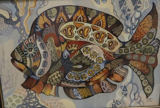 Янина Ивасенко. Рыба нарядная