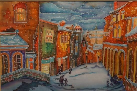 Тамара Максимова. Зимний город