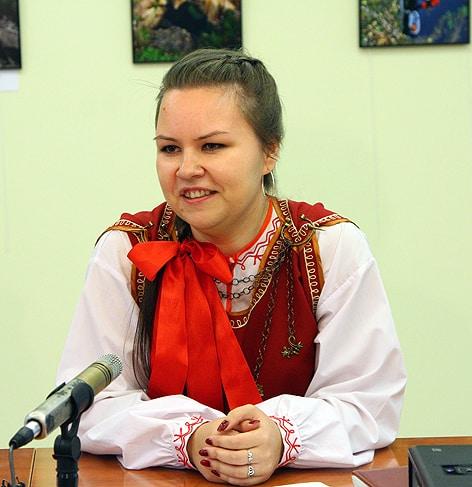 Анна Анхимова, заведующая информационным отделом Национального музея, автор проекта «Калитка. ru»