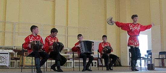 Образцовый ансамбль саратовских гармоник «Озорные переборы» из Сочи