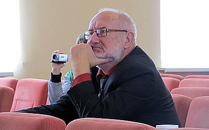 В.В. Беляев, председатель жюри конкурса молодых исполнителей
