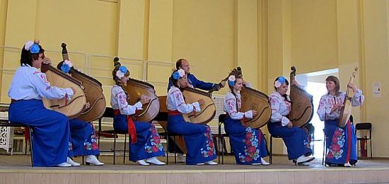 Народный ансамбль бандуристок «Журавка» из п. Самойловка Саратовской области