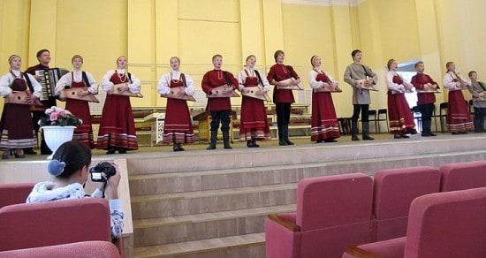 Образцовый коллектив России и Карелии ансамбль народной музыки «Перегудки» из Петрозаводска
