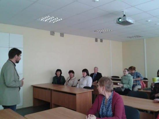 Социокультурные проекты школы представляет директор Олег Степанов