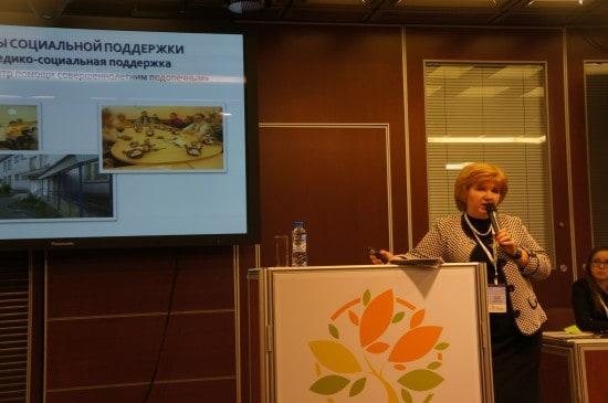 Ирина Орлова из Архангельска удивила рассказом об опыте работы с пожилыми