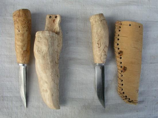 Игорь Набоков. Ножи в карельском стиле