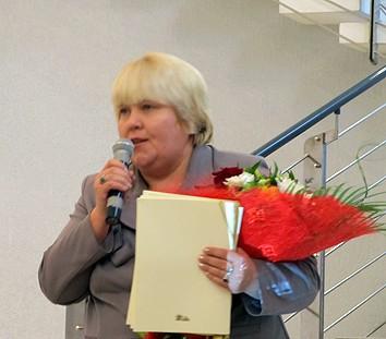 Поздравление от министра культуры Е. Богдановой