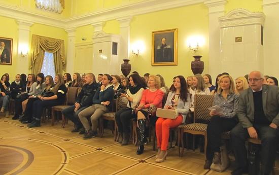 Участники чтений, студенты I и II курсов Карельского филиала РАНХиГС