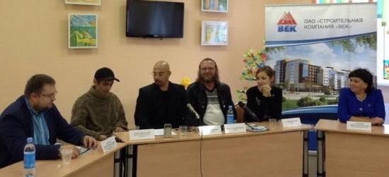 На пресс-конференции в школе-интернате №21