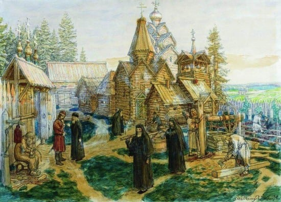 Аполлинарий Васнецов. Троице-Сергиева лавра