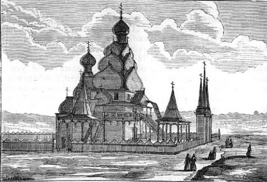 Э. Пальмквист. Николо-Угрешский монастырь