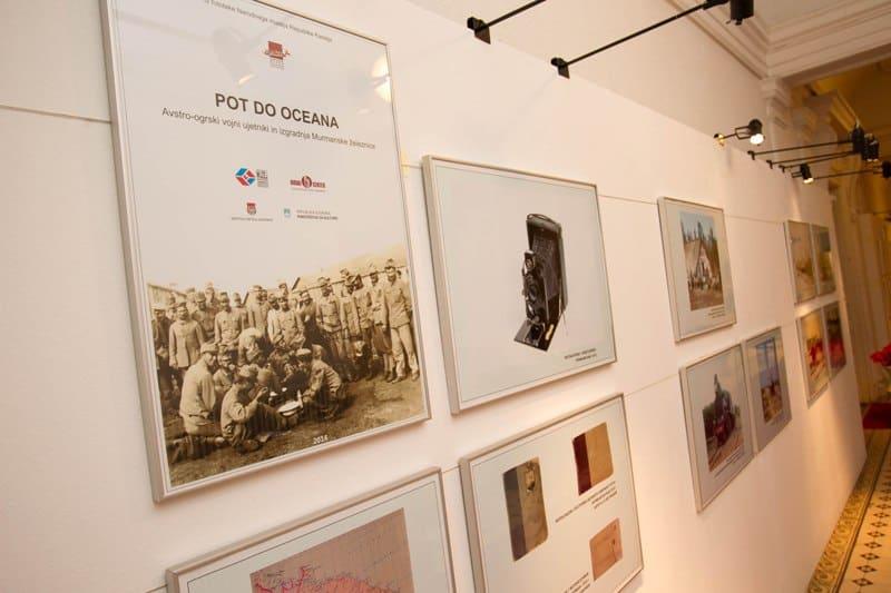 Фото из Национального музея экспонируются на выставке «Путь к океану» в Словении