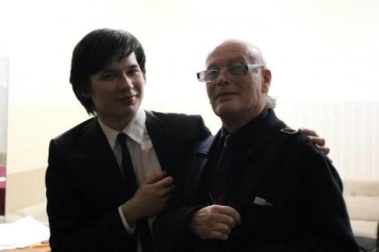 Айлен Притчин и профессор Петрозаводской консерватории Климентий Векслер