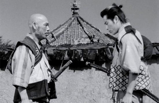 """Кадр из фильма """"Семь самураев"""""""