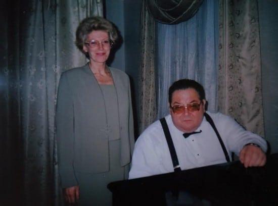 Татьяна Шерудило с пианистом Николаем Петровым