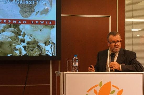 Выступает Грег Шоу, директор по международным связям международной федерации по старению IFA