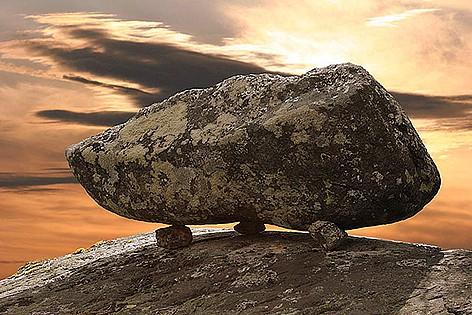 Я послал вам камень…