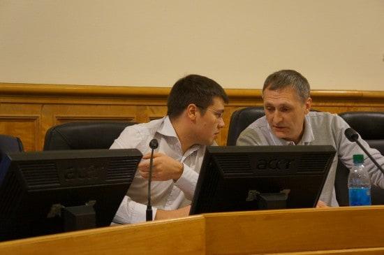 Сергей Пирожников (слева) и Виктор Позерн
