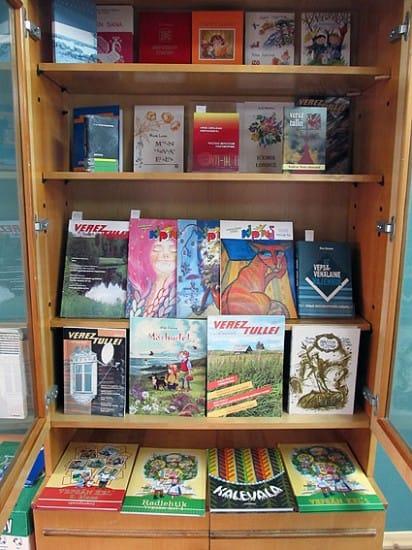 На Лонинских чтениях была представлена выставка изданий на вепсском языке, вышедших в последние годы