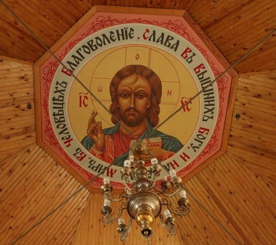Медальон церкви Зосимы, Савватия и Германа Соловецких. 2005-2006