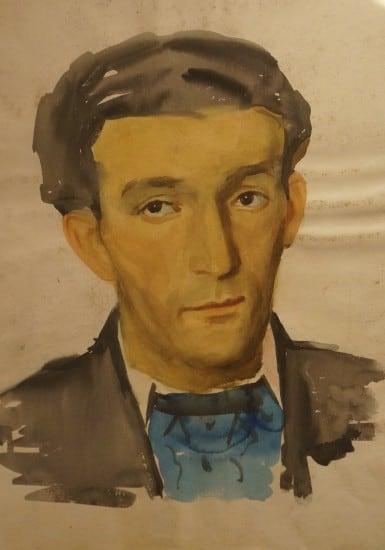 Ядвига Жильвинска. Портрет мужчины