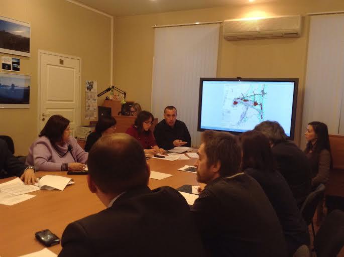 Заседание рабочей группы вел замдиректора Дмитрий Луговой