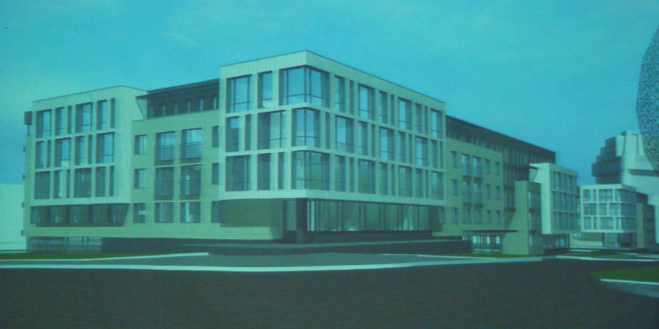 Вид на здания с разных точек обзора
