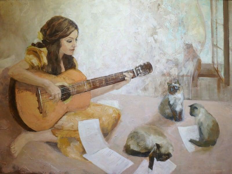 Ольга Ерохина. Юность