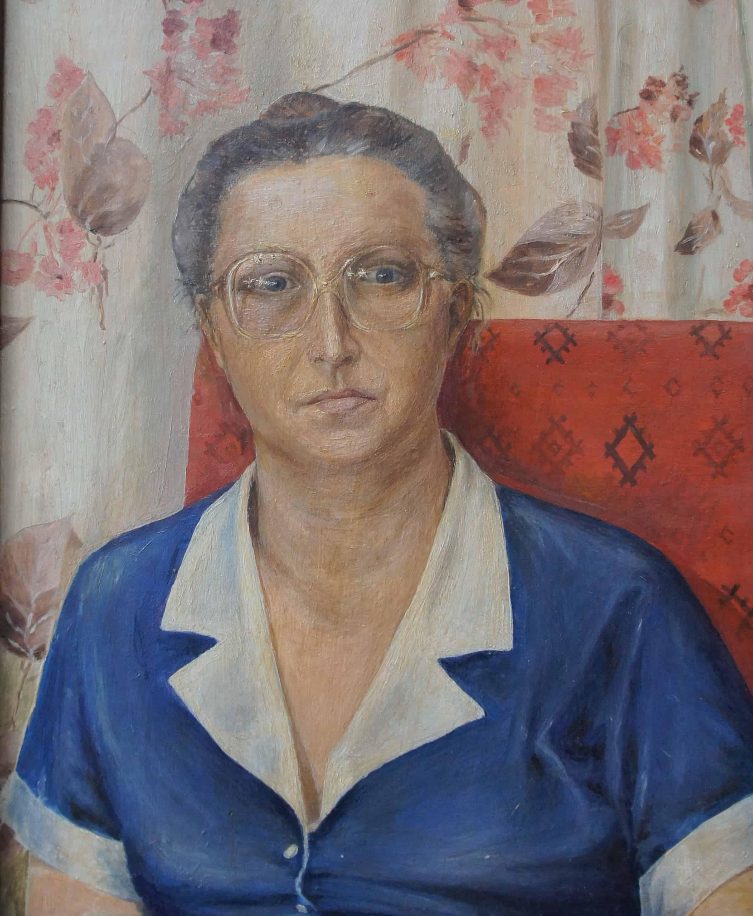 Портрет любимой жены Люси. 1988