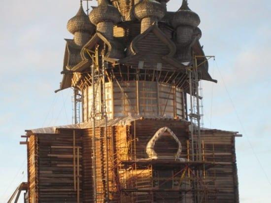 Преображенская церковь. Декабрь 2014 года. Фото Александра Куусела